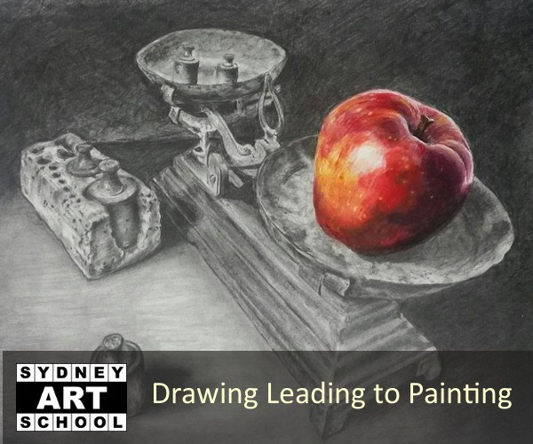Drawing Leading to Painting