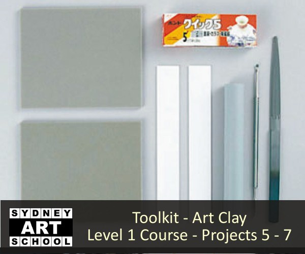 Toolkit - Art-Clay Level 1 Certification Course-Projects 5 - 7