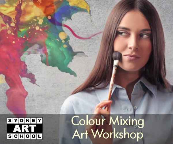 Colour Mixing Art Workshop for Acrylic and Oil Painting Artists