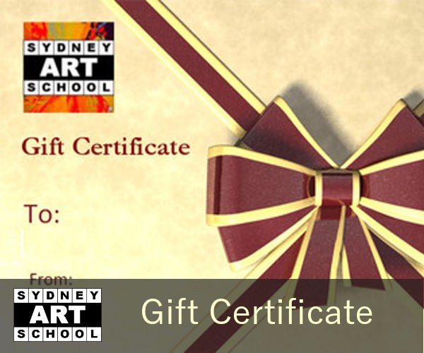 Gift Certificate for Art Classes