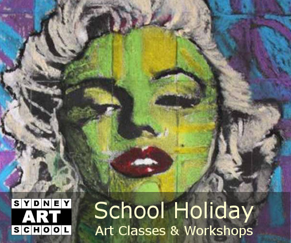 School Holiday Art Workshops |  2017