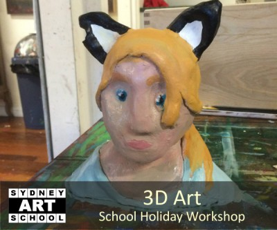3D Art - School Holiday Workshop