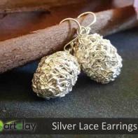 Art Clay Silver Australia - Silver Lace Earrings.jpg