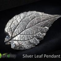 Art Clay Silver Australia - Silver Leaf Pendant.jpg