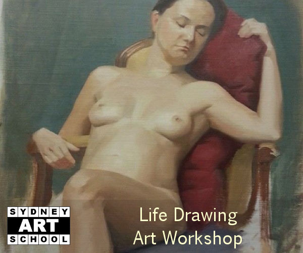 Life Drawing Art Workshop with Krista Brennan - How to Draw the Human Figure
