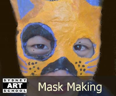 Mask Making - School Holiday Workshop