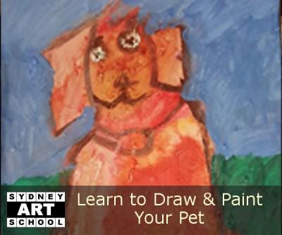 Paint Your Pet - School Holiday Art Workshop