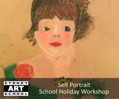 Self Portrait - School Holiday Art Workshop