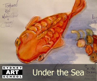 Under the Sea - School Holiday Art Workshop