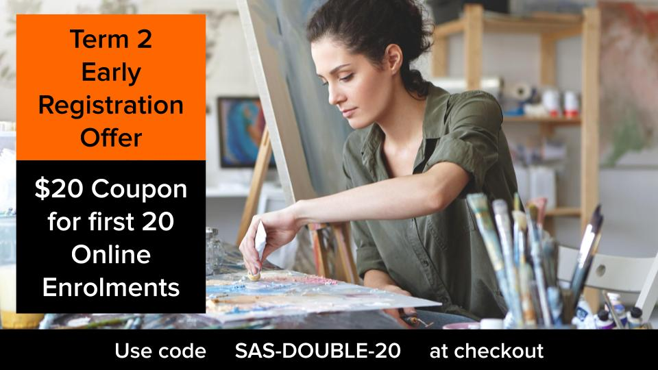 SAS DOUBLE 20 Coupon Code Poster