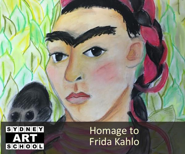 Frida Kahlo Art Class