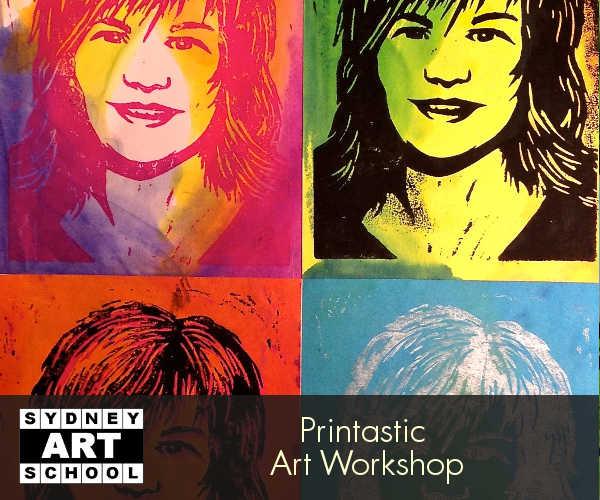 school holiday art workshop printastic 3
