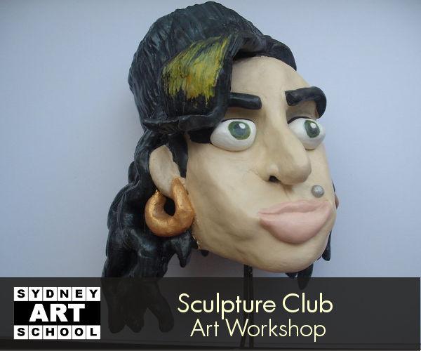 school holiday art workshop sculpture club 1