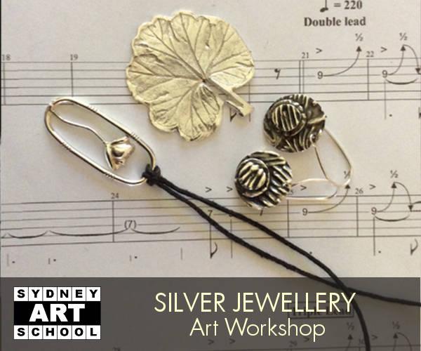 school holiday art workshop silver jewellery 1