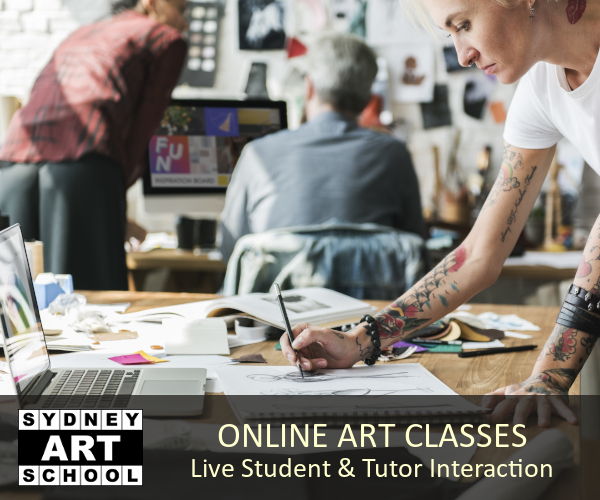 interactive online art classes