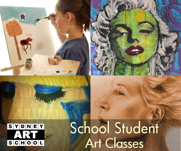 Art Classes for Kids at Sydney Art School