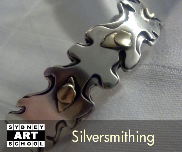 Silversmithing Classes at Sydney Art School