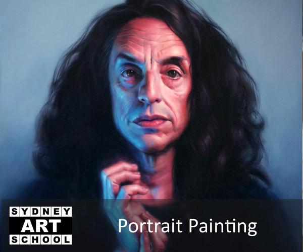 Portrait Painting Michael Simms
