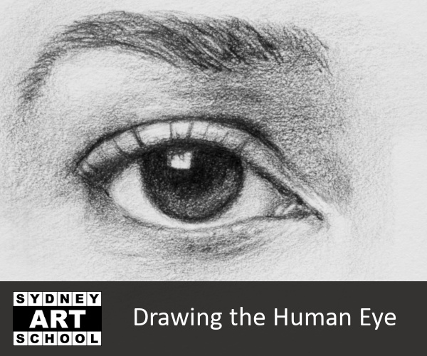 DRAWING THE HUMAN EYE | ONLINE STUDIO SESSION