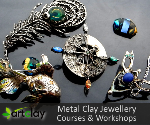 Metal Clay Jewellery Making - Beginners Workshops