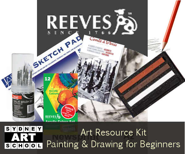 painting and drawing course resource kit