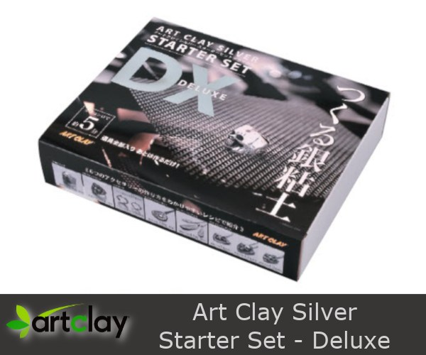 A-0189KP Art Clay Silver Starter Set Deluxe - Box - 600 x 500