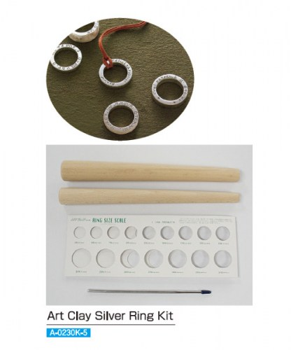 A-0230K-Ring-Kit-Art-Clay-Silver