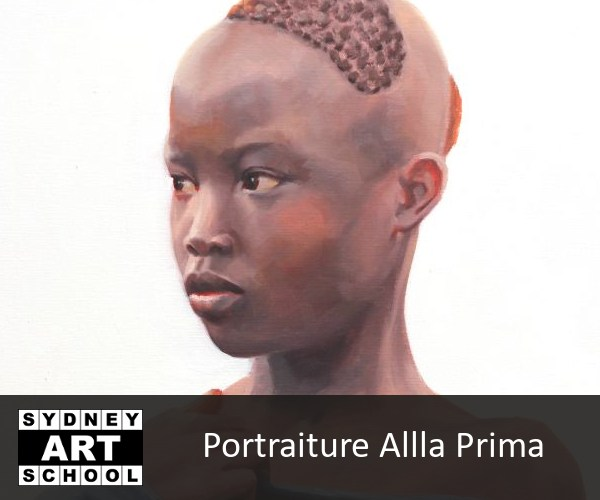 Portraiture Alla Prima Art Workshop