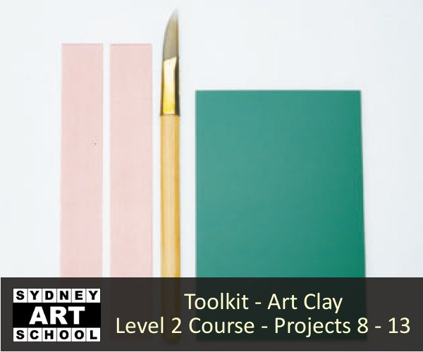 Toolkit for Art Clay Level 2 Certification Course - Projects #8 - #13