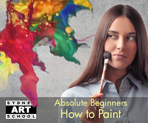 Absolute Beginners - How to Paint - Art Class - Sydney Art School