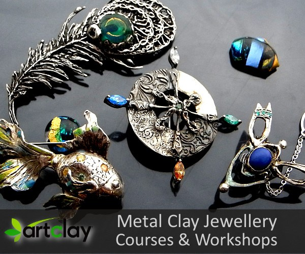 Metal Clay Jewellery - Courses and Workshops