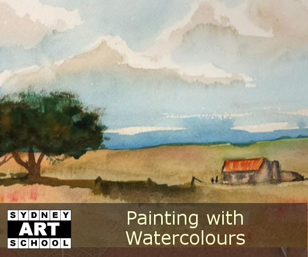 Art Workshop - Beginning Watercolours - Sydney Art School