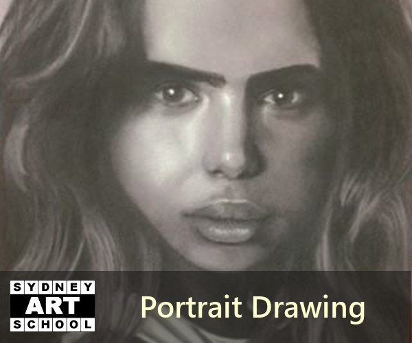 Portrait Drawing - Art Class - Sydney Art School