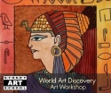 school holiday art workshop ancient egypt