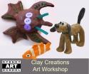 school holiday art workshop
