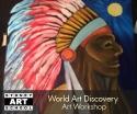 school holiday art workshop american indian artwork