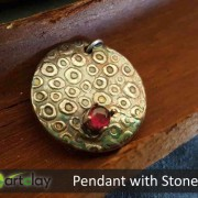 Art Clay Australia Pendant with Stone.jpg