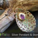 Art Clay Silver Australia - Pendant with CZ Stone.jpg