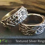 Art Clay Silver Australia - Textured Silver Rings.jpg