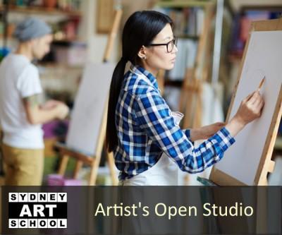 Artists Open Studio Sessions