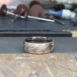Daniel Cap white and rose gold acid etched ring.jpg