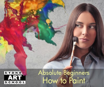 Absolute Beginners How to Paint Art Classes
