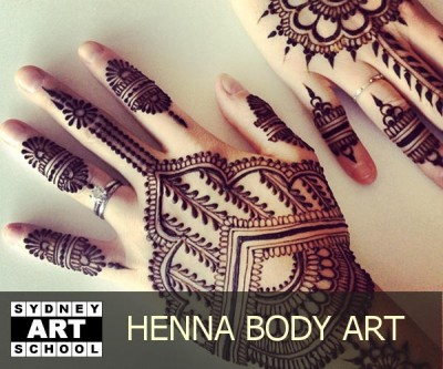 Henna Body Art - School Holiday Art Workshop
