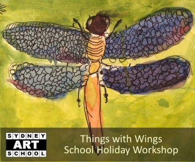 Things with Wings - School Holiday Art Workshop