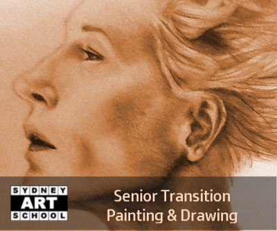 Senior Transition Advanced Painting and Drawing Art Class